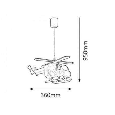 Helicopter Lampi pentru copii - 1