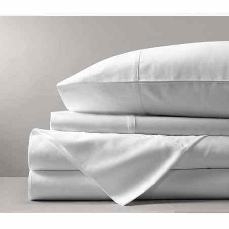 Lenjerie pat Signature de luxe Grande Blanc  - 1