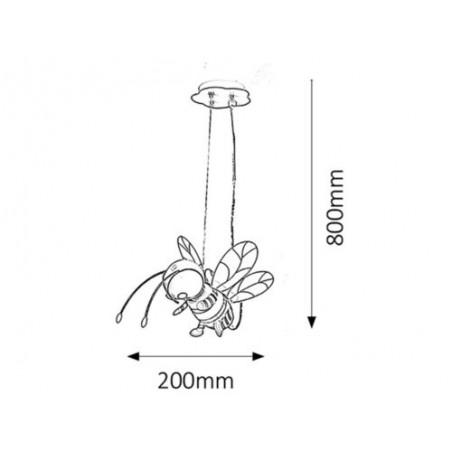 Bee Lampi pentru copii - 1