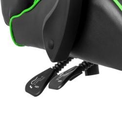 Scaun gaming verde cu negru XZONE - 5