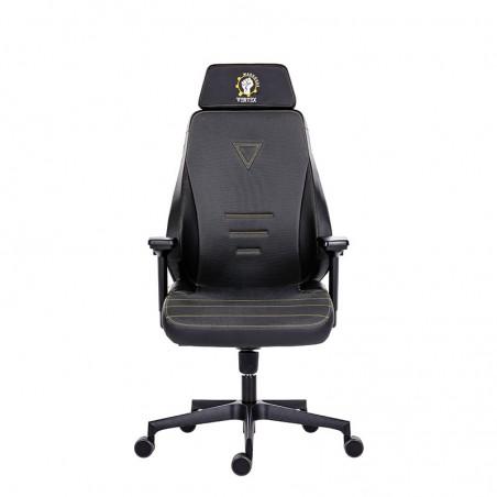 Scaun gaming negru cu gri Vertex - 1