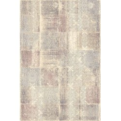 Covor lana Egeria multicolor patratele  - 1
