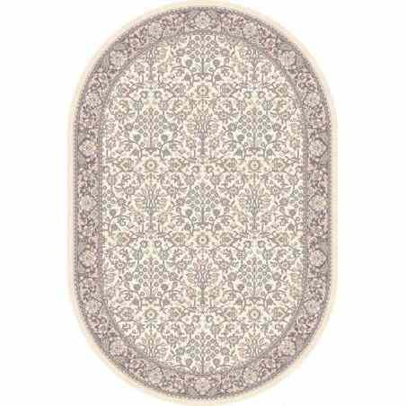 Covor lana oval Itamar alabastrowy - 1