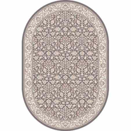 Covor lana oval Itamar antracytowy  - 1