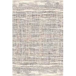 Covor lana Ruts multicolor cu linii - 1