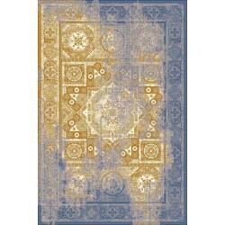 Covor lana Liavotti galben cu albastru - 1