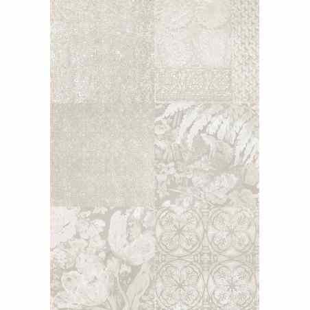 Tapet modern culoare deschisa floral abstract - 1
