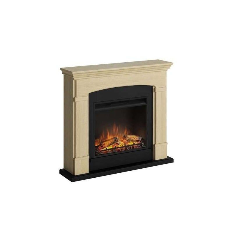 SEMINEU HELMI NATURAL OAK CU FOCAR ELECTRIC POWERFLAME 23 INCH - 1