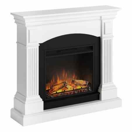 SEMINEU MAGNA PURE WHITE CU FOCAR ELECTRIC POWERFLAME 23 INCH - 1