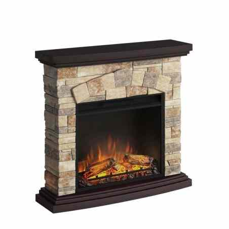 SEMINEU TORI STONE CREAM CU FOCAR ELECTRIC POWERFLAME 23 INCH  - 1