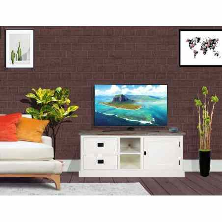 Comoda Tv din lemn 134x45x55 - 1