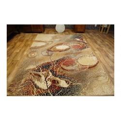 Covor lana Bellona natura abstracta chihlimbar  - 2