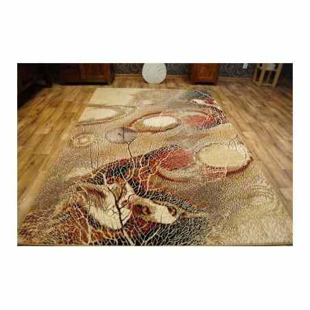 Covor lana Bellona natura abstracta chihlimbar - 1