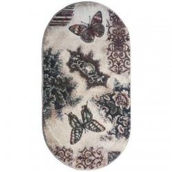 Covor modern oval lotus fluturi 1607  - 3