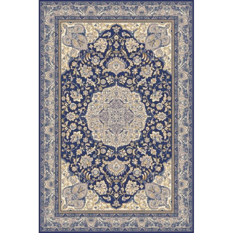Covor lana Hathor albastru inchis - 1