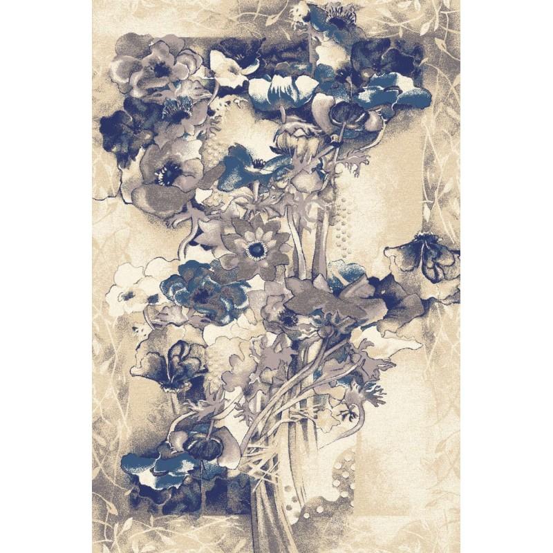 Covor lana Walencja albastru - 1