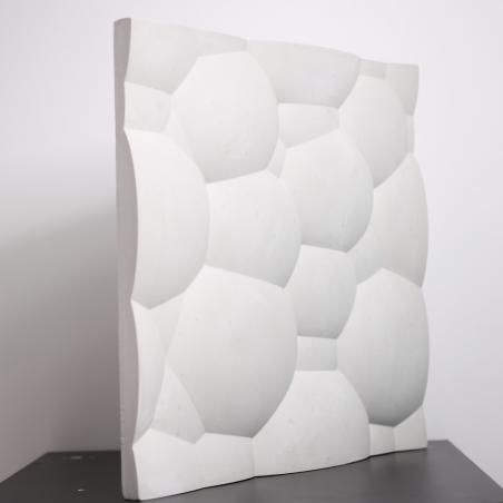4 x Placi Decorative 3D, Model Bubble, Ipsos - 1mp/Pachet