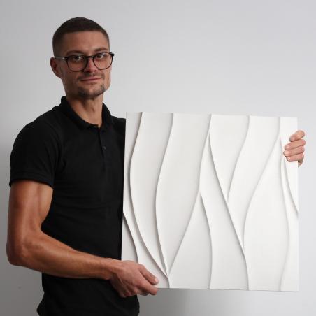 4 x Placi Decorative 3D, Model Virgo, Ipsos - 1mp/Pachet