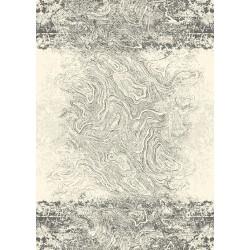 Covor lana Crotone grey - 1