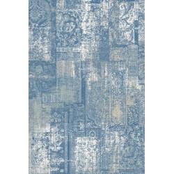 Covor lana Etery albastru  - 1