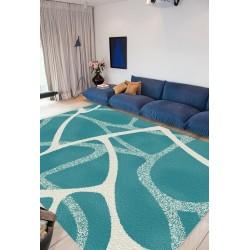 Covor modern Fantasy blue 12058-140  - 2