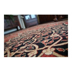 Covor lana oval Leyla culoare rubin - 2