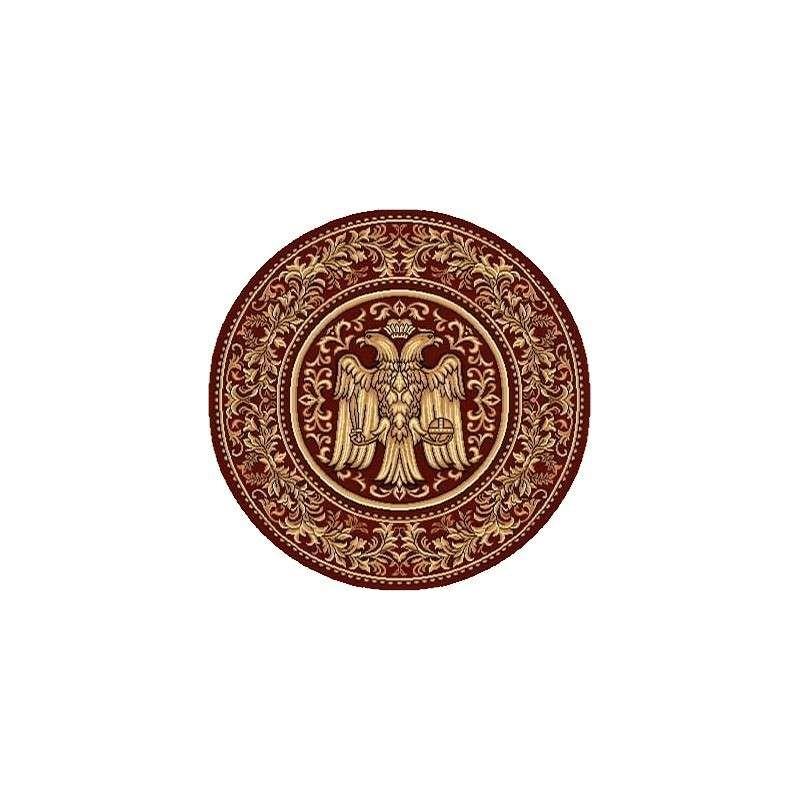 Covor Vultur Bicefal rotund 002 - 1