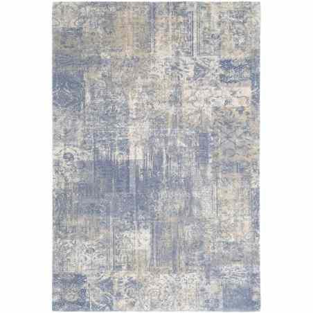 Covor lana Eddie albastru - 1