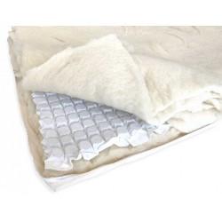 Topper de lana microarcuri Extra  - 2