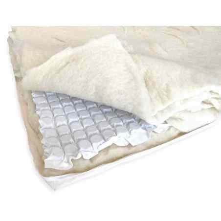 Topper de lana microarcuri Extra  - 1