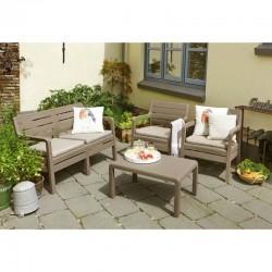 Set mobilier gradina Delano, cappuccino - 4