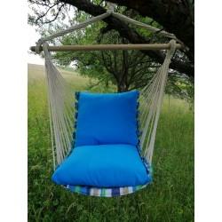 Hamac scaun, 1 persoana, albastru - 1