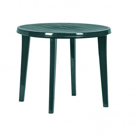 Masa rotunda pentru gradina, verde - 1