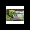 Ghiveci pentru flori si plante, patrat, gri, 34L - 2