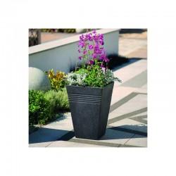 Ghiveci pentru flori, imitatie marmura verde, 33L - 1