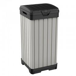 Cos pentru gunoi, gri, 125L - 3