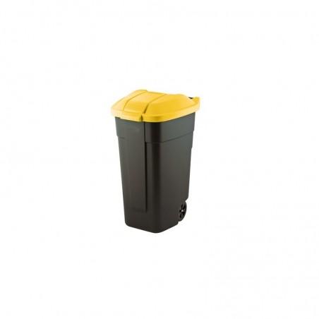 Cos pentru gunoi Refuse, negru-galben, 110L - 1