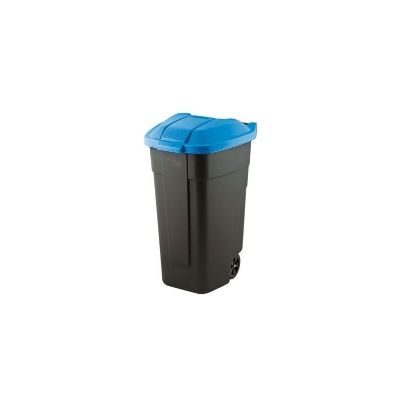 Cos pentru gunoi Refuse, negru-albastru, 110L - 1