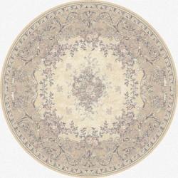 Covor lana Dafne alabaster cerc - 1