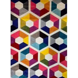Covor Multicolor Firenze 100-001 - 1