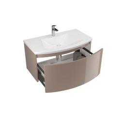 Mobilier baie, 80, cu sertar, cappuccino, 80 x 49 x 41 cm - 1