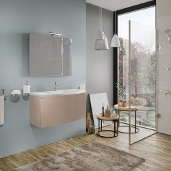 Mobilier baie, 80, cu sertar, cappuccino, 80 x 49 x 41 cm - 4