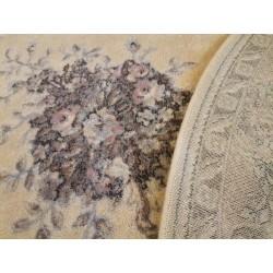 Covor lana oval Dafne alabastrowy - 2