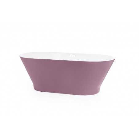 Cada baie freestanding Oslo pastel-violet 170cm X 80cm - 1