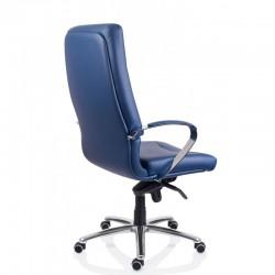 Scaun birou piele-eco albastru Sett - 2