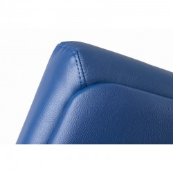 Scaun birou piele-eco albastru Sett - 6