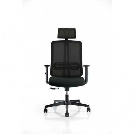 Scaun birou executiv Vertigo PDH negru - 1
