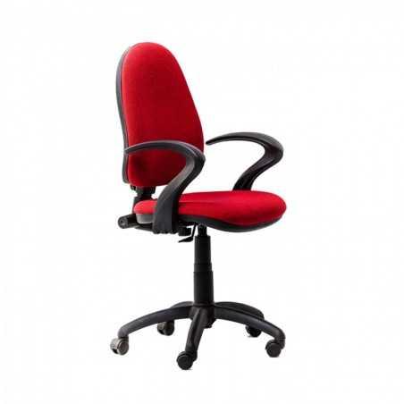Scaun birou ergonomic Panther RX Rosu cu brate - 1