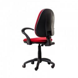 Scaun birou ergonomic Panther RX Rosu cu brate - 3
