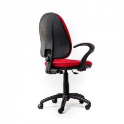 Scaun birou ergonomic Panther RX Rosu cu brate - 4
